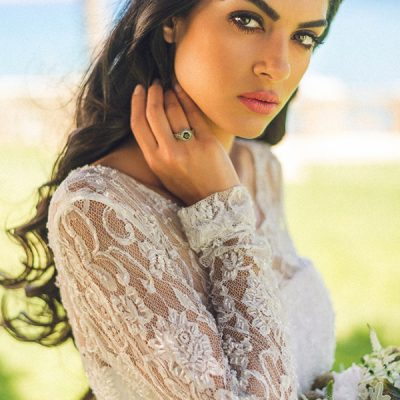 Columbia Resort Edgy and Romantic Styled Shoot