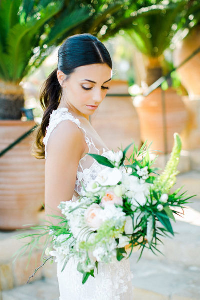 Tropical Luxury styled shoot in Cyprus