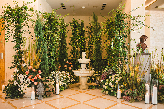 luxurious decor wedding