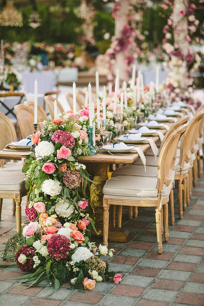 luxury wedding table decorations
